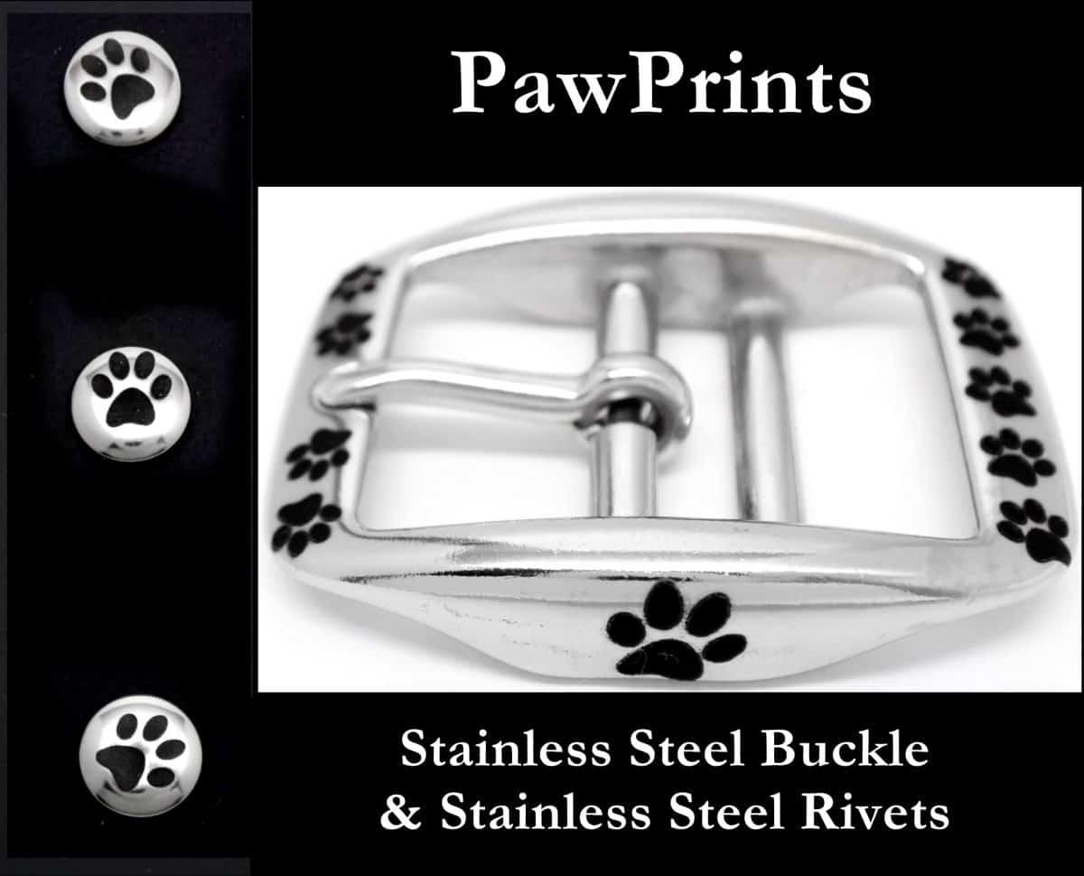 Add Laser Engraving PawPrints